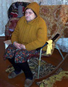 Holocaust Survivor Fanya-K-Pinsk in Belarus, 2005