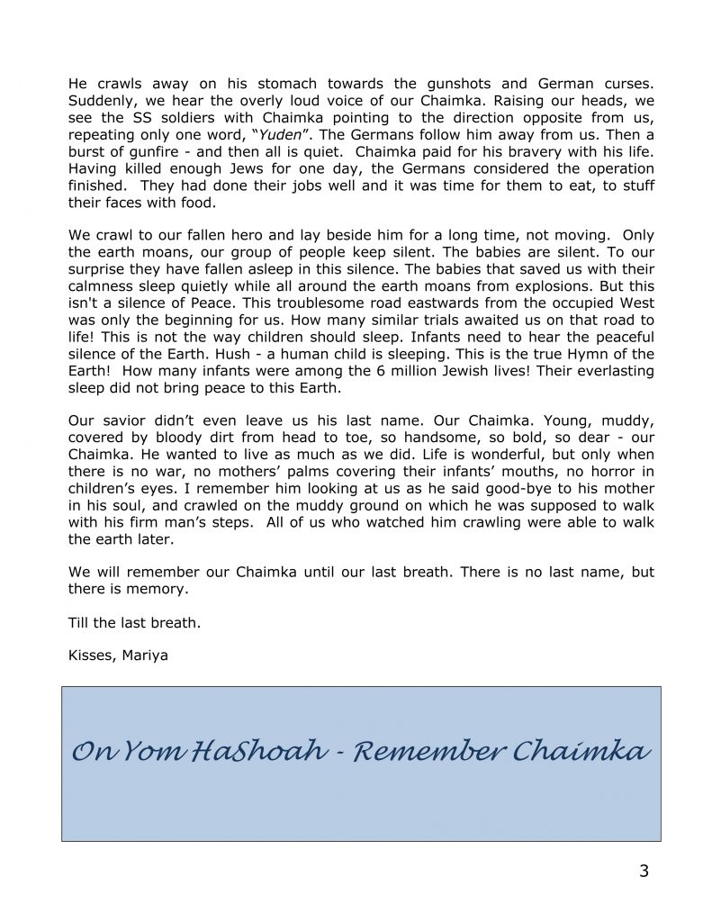 Remember His Name newsletter-3